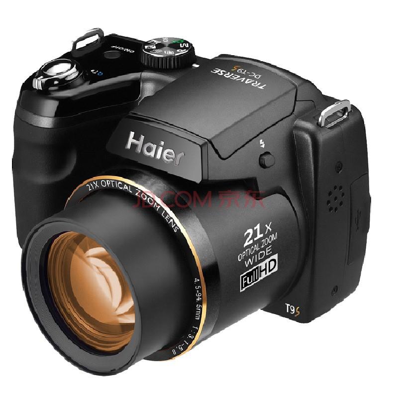 海尔dc-t9s 数码照相机 黑